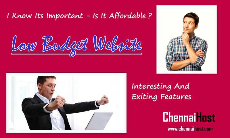 I Know Website is Important – Is it Affordable?